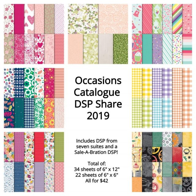 Occasions Catalogue DSP share 2019