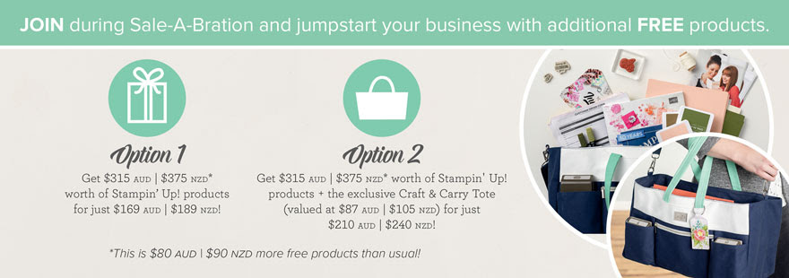 Profit in 30 days, sale-a-bration, join, option 1 and option 2