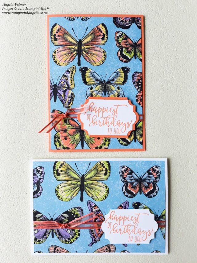 Occasions Catalogue 2019 Designer Series Paper Share, Simple Designer Series Paper Cards