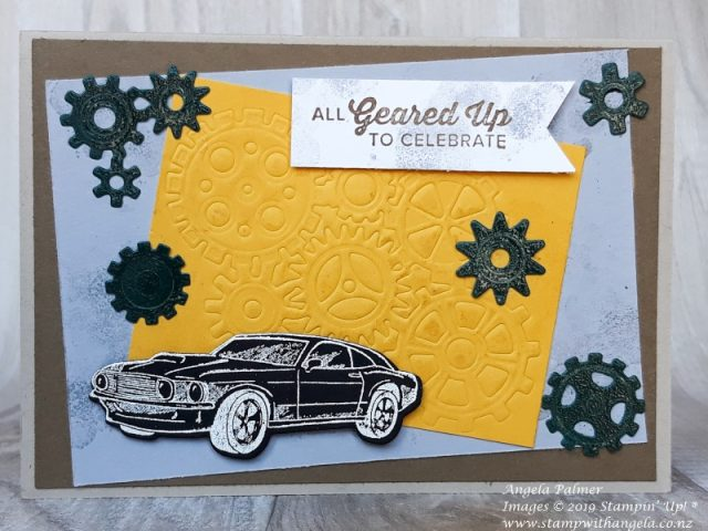 Big Shot Embossing Mats with Geared Up Garage